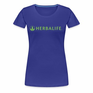Herbalife Green Logo - Women's Premium T-Shirt