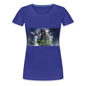Cracked Reality Gaming Logo - Women's Premium T-Shirt