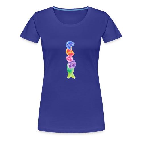 Watercolor Florals - Women's Premium T-Shirt