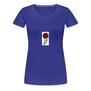 Rose Design - Women's Premium T-Shirt