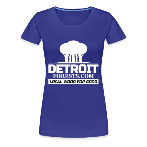 Great Lakes Forest | Detroit Forests LOGO - Women's Premium T-Shirt