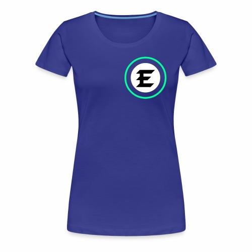 exrt green logo - Women's Premium T-Shirt