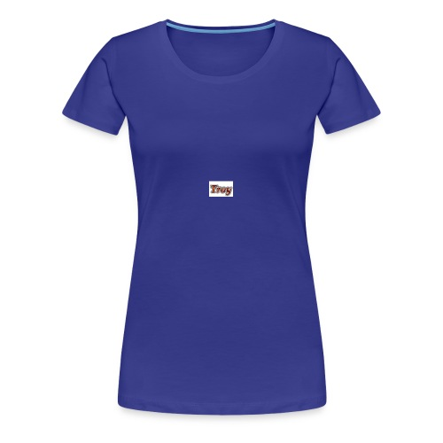 Troy Logo - Women's Premium T-Shirt