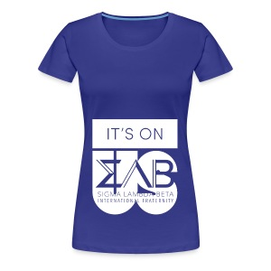 Its On Betas White - Women's Premium T-Shirt