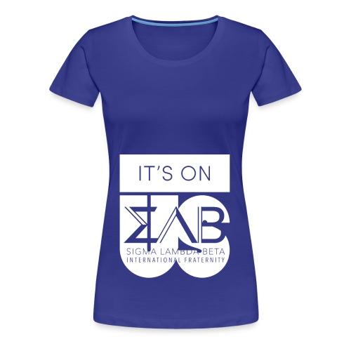 Its On Betas White - Women's Premium T-Shirt