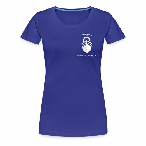 WWCFNA Forever learning white - Women's Premium T-Shirt
