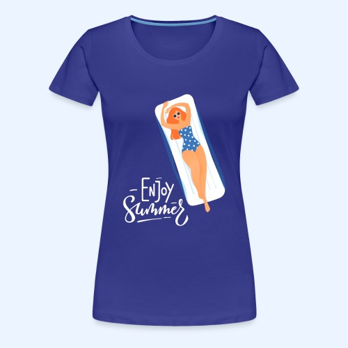 Enjoy Summer - Women's Premium T-Shirt
