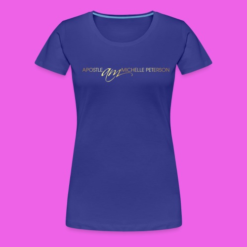 Apostle Michelle Logo Shirt - Women's Premium T-Shirt