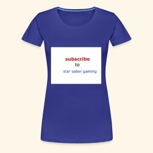 subscribe shirt - Women's Premium T-Shirt