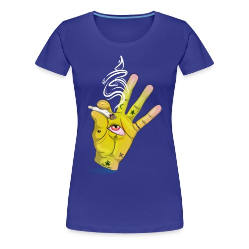 Khalwi High Khamsa - Women's Premium T-Shirt