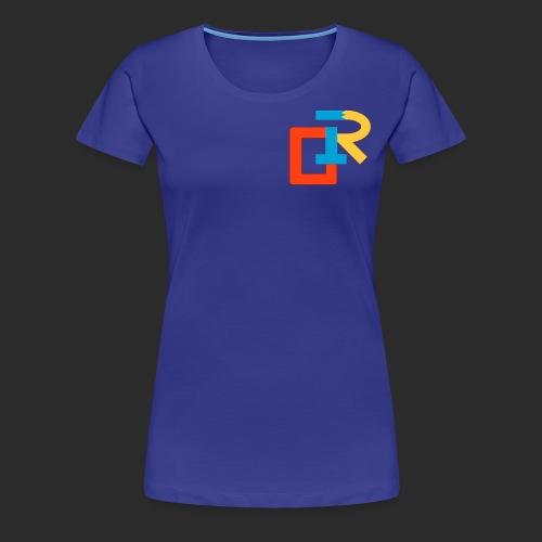 COLORED RIGANG LOGO - Women's Premium T-Shirt