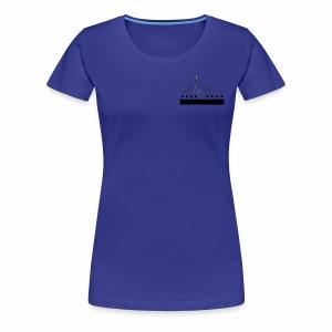 CHICAGO FLAG & SKYLINE - Women's Premium T-Shirt