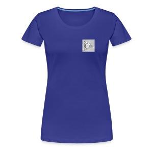 9 days left-diamond button - Women's Premium T-Shirt