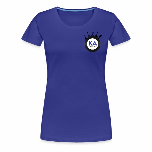 Official KAM Logo - Women's Premium T-Shirt