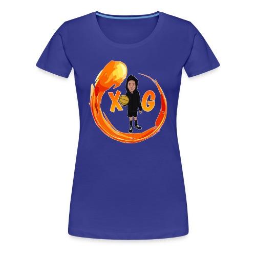 XG logo - Women's Premium T-Shirt