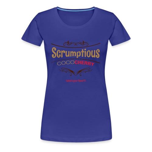 Chocolate Cherry SCRUMPTIOUS - Women's Premium T-Shirt