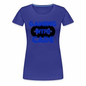 GamingWithCade Shop - Women's Premium T-Shirt
