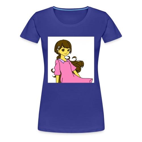 Nice cute girl - Women's Premium T-Shirt