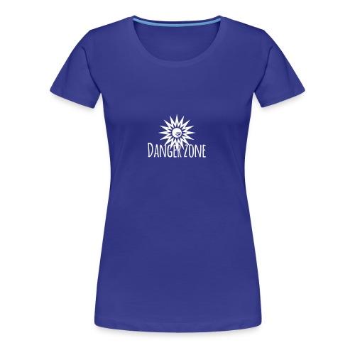 Danger zone - T-shirt premium pour femmes