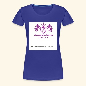 Awesome Moms United logo shirt - Women's Premium T-Shirt