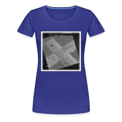 At the Cross - Women's Premium T-Shirt