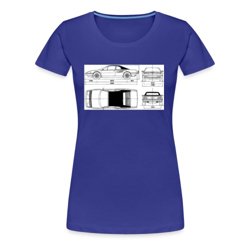 artists rendering - Women's Premium T-Shirt