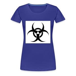 white toxic - Women's Premium T-Shirt