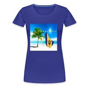 Barbados Good Morning - Women's Premium T-Shirt