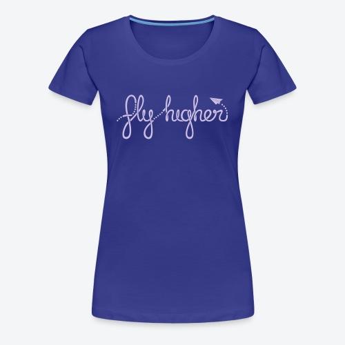 Fly Higher - Light Purple - Women's Premium T-Shirt