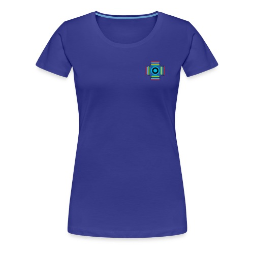 Parallel Cross - Women's Premium T-Shirt