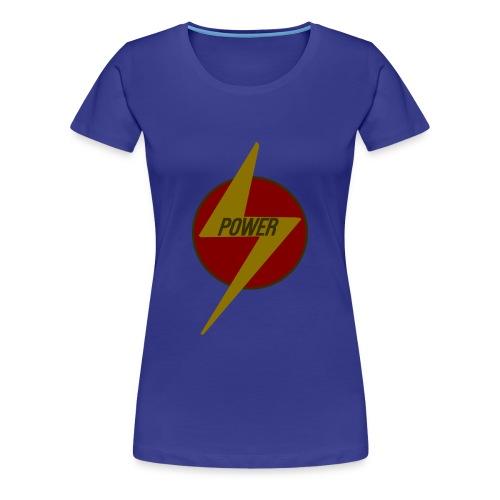 Flash of Power - Women's Premium T-Shirt