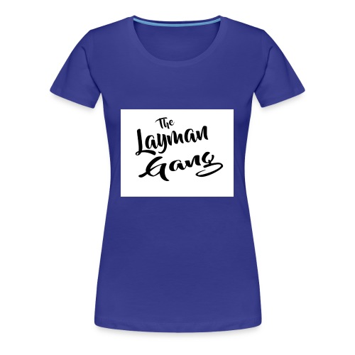 The layman gang shirt - Women's Premium T-Shirt