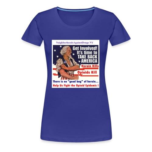 GetInvolved page 001 - Women's Premium T-Shirt