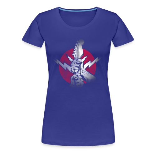 rockrole Shirt Design - Women's Premium T-Shirt