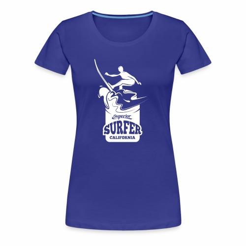 Superior - California Surfer - Women's Premium T-Shirt