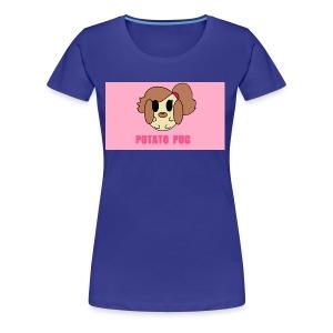 Potato Pug - Women's Premium T-Shirt