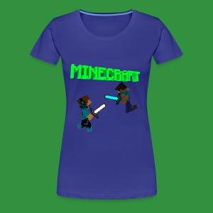 SmoothYT vs Herobrine - Women's Premium T-Shirt