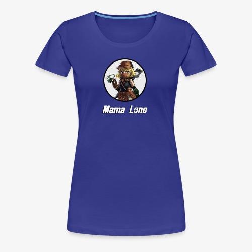 Mama Lone - Women's Premium T-Shirt