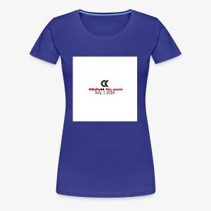 Clkelly64 movie date - Women's Premium T-Shirt