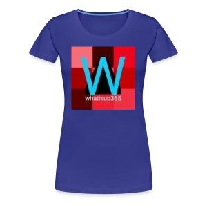 Whatisup365's logo 2014-2015 - Women's Premium T-Shirt