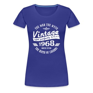 50th Birthday Gift For Men 1968 - Women's Premium T-Shirt