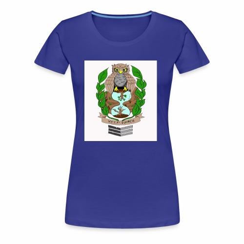 owl hourglass - Women's Premium T-Shirt