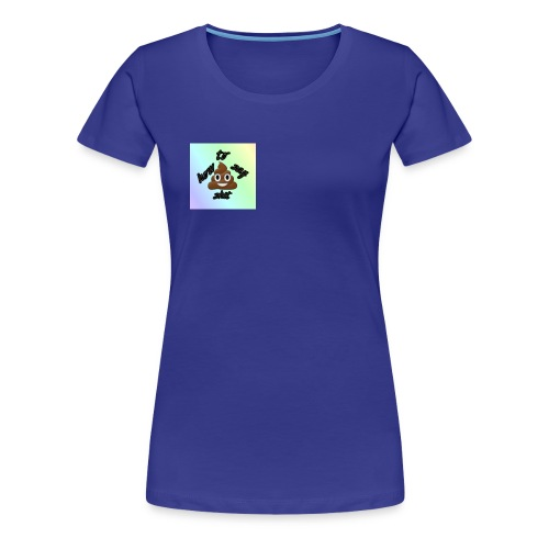 HTSS Old School Blue/Purple Design - Women's Premium T-Shirt
