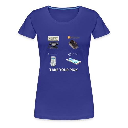 Beautifully f**king illustrated - Women's Premium T-Shirt