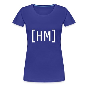 Wihte Hammy Media shirt and accessorie design - Women's Premium T-Shirt