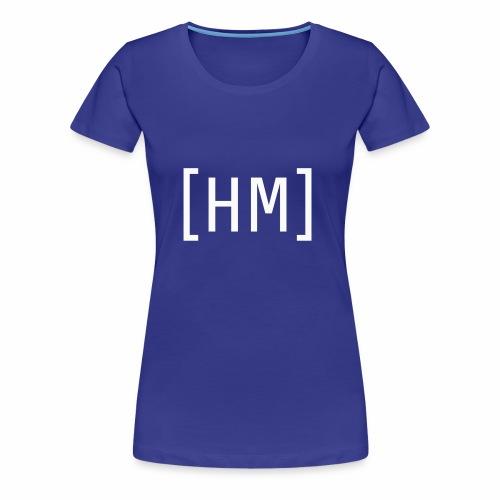 Wihte Hammy Media shirt and accessorie design - Women's Premium T-Shirt
