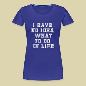 No Idea - Women's Premium T-Shirt