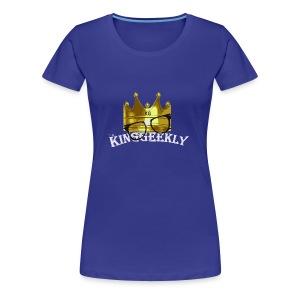 KingGeekly Classic - Women's Premium T-Shirt