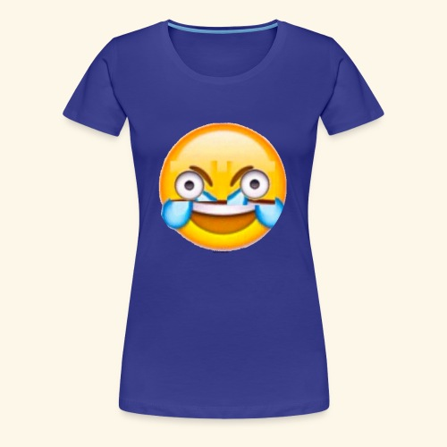 Mad Laughing Face - Women's Premium T-Shirt