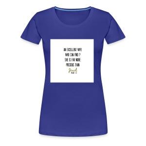 jewel quote - Women's Premium T-Shirt